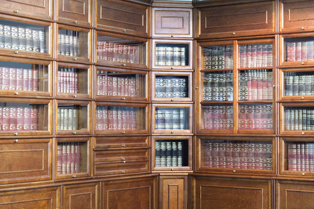 the image of a bookcase photo