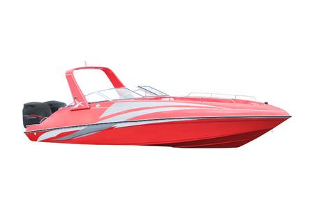 Motorboot-Stand auf einen Liegeplatz