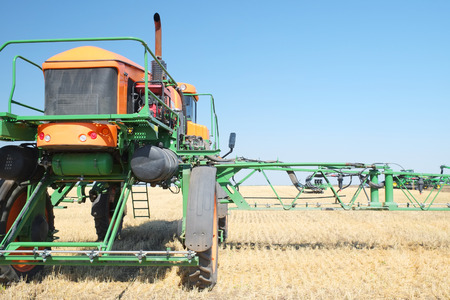 agricultural implements: The image of an agricultural sprayer
