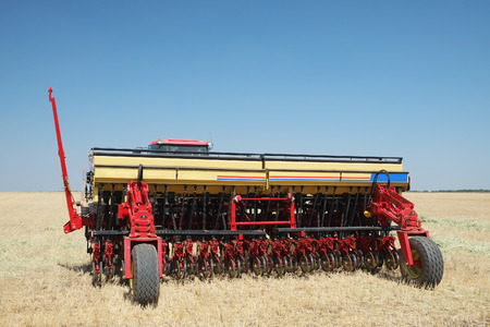 The image of  seeder Stock Photo