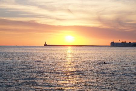 veiw: Veiw of Sevastopol sea bay