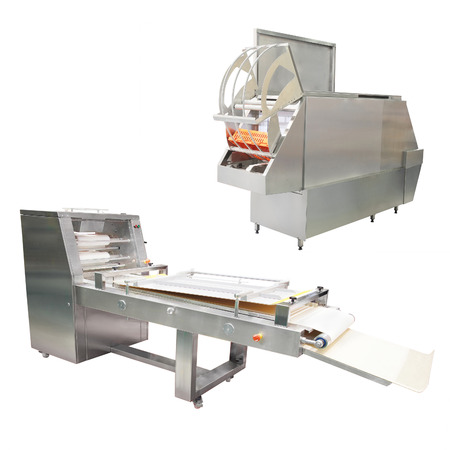 automated tooling: The image of a food industry equipment Stock Photo