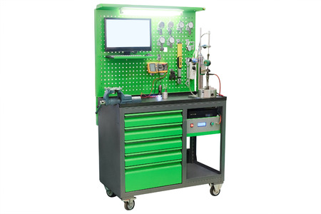 the image of a  device for diagnosis injectors photo