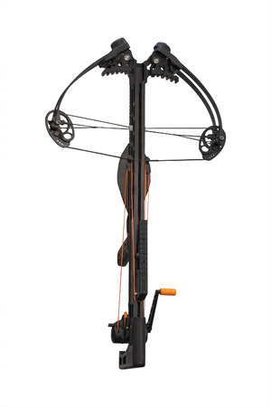 crossbow: Crossbow isolated under the white background Stock Photo