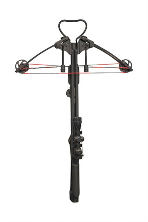 arbalest: Crossbow isolated under the white background Stock Photo