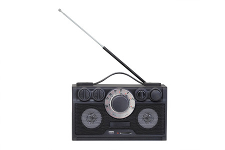 wireless set under the white background photo