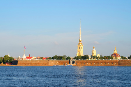 the image of a Peter and Paul Fortress Stock Photo