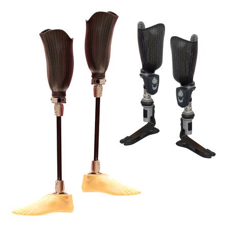 limbs: artificial limbs Stock Photo