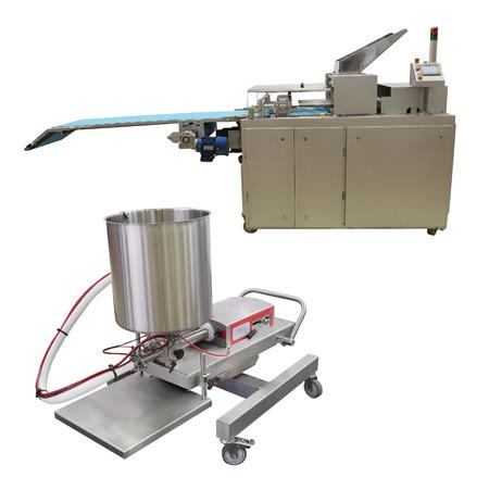 half stuff: The image of a baking machine