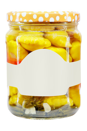 image of a canned vegetables photo