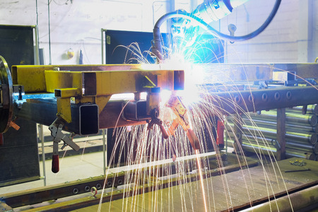 welding machine: The image of a welding slave