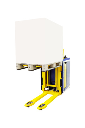 mini loader: image of loader under the white background