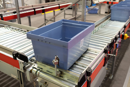 transportador: imagen de la cinta transportadora autom�tica