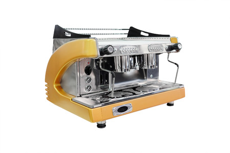coffee-machine under the white background photo