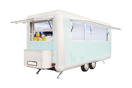 image of a mobile cafe photo