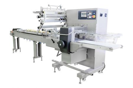 half stuff: image of a baking machine Stock Photo