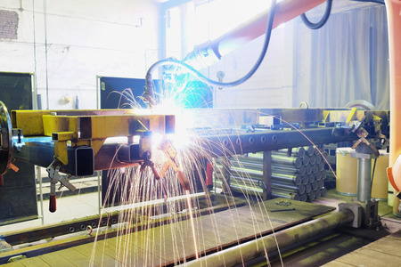 unbend: The image of a welding slave