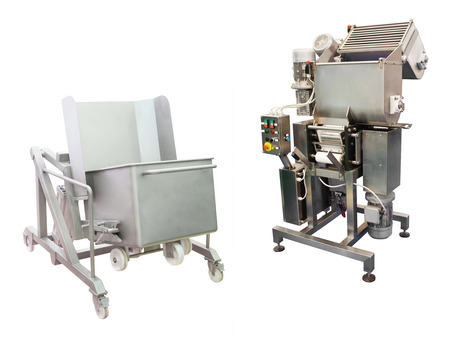 food industry: The image of a food industry equipment Stock Photo