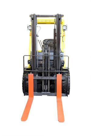 image of loader under the white background