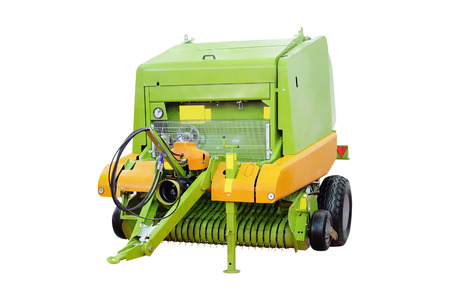 implements: image of agricultural machine under the white background