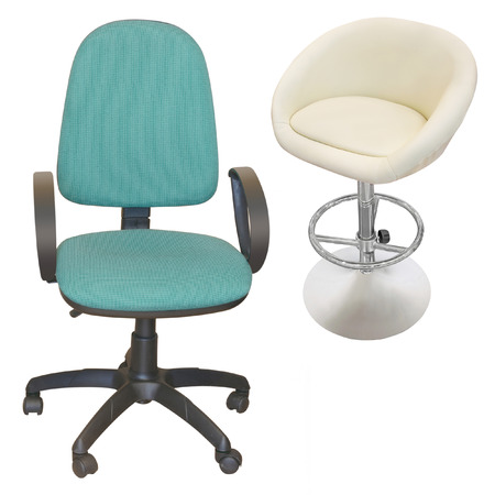 swivel chairs: chair under the white background