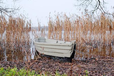 berth: pair-oar boat at a berth