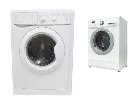 turn dial: The image of washer under the white