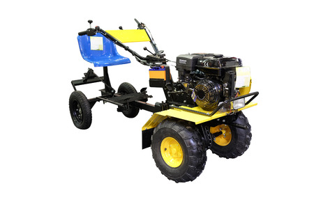 cultivator: cultivator under the white background Stock Photo