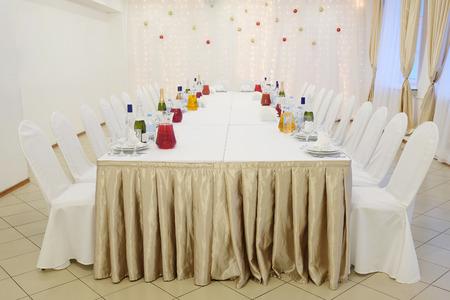 banquet facilities: Banquet facilities table setting
