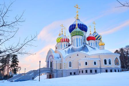 igor: The temple of Prince Igor of Chernigov in Peredelkino