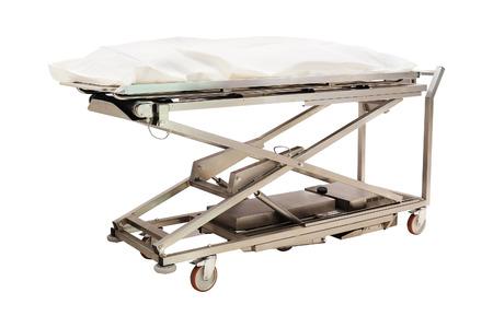 cadaver: the image of a morgue