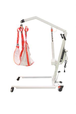 Lift voor gehandicapte elektrisch geïsoleerd op de witte achtergrond