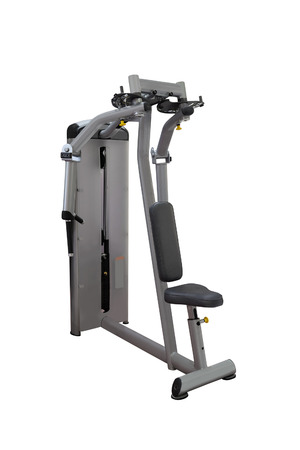 apparatus: gym apparatus under te white background