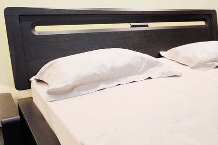 bedspread: close-up of a bedroom in the Japanese style