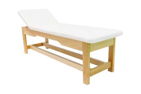 blood pressure unit: medical examination table Stock Photo