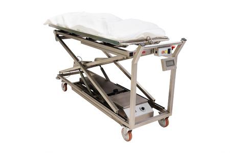 autopsy: the image of a morgue