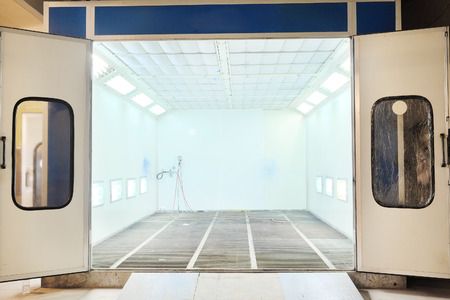 radiative: drying chamber for car