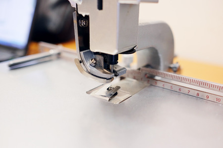 printing industry: Professional printing stapler Stock Photo
