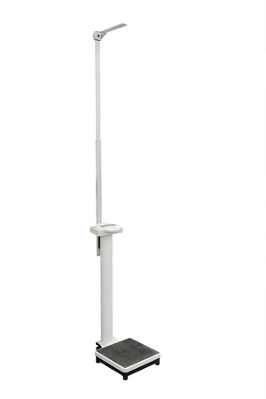 stadiometer isolated under the white background