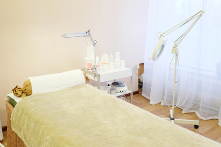 saloon: image of massage room in spa saloon
