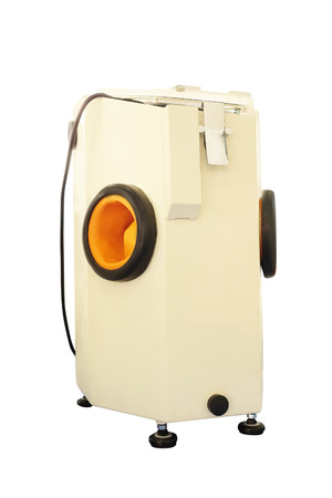 sandblasting machine for dentistry under the white background Stock Photo