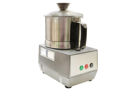 image of food processor under the white background photo