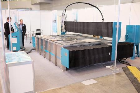 corte laser: imagen de un corte por l�ser