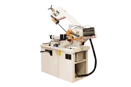automated tooling: image of a lathe Stock Photo