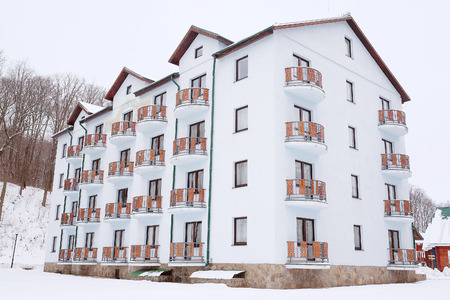 comfortable: Beautiful comfortable hotel, cottage for tourists