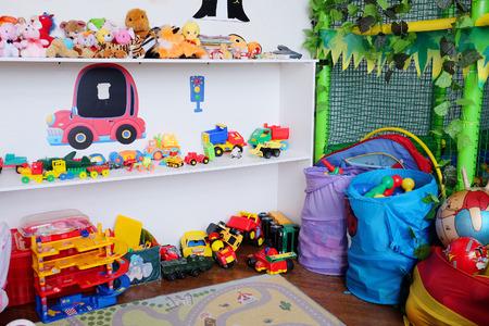 playroom: Empty childrens playroom