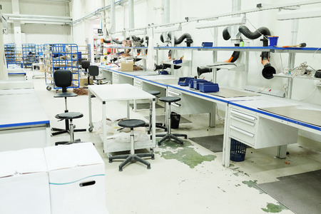 leds: The workshop for the production of electronic equipment LEDs