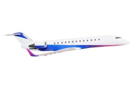 jetliner: The image of a model airplane
