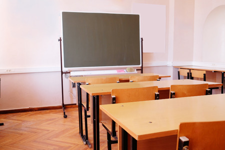empty classroom: Image of Classroom Editorial