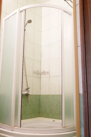 shower cubicle: image of the shower cubicle